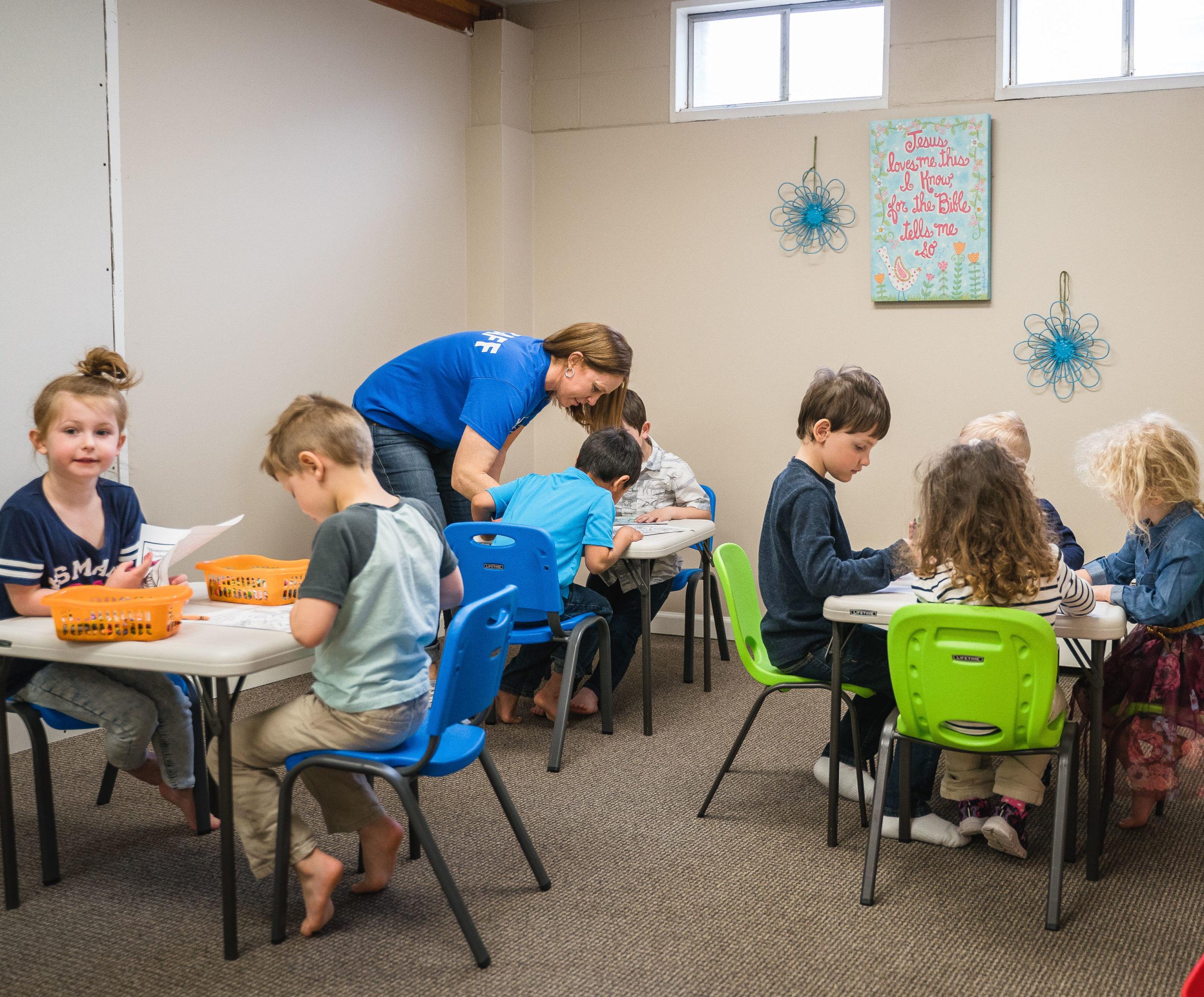 Little Faith Kids Group at Faith Family Billings Church, Billings, MT