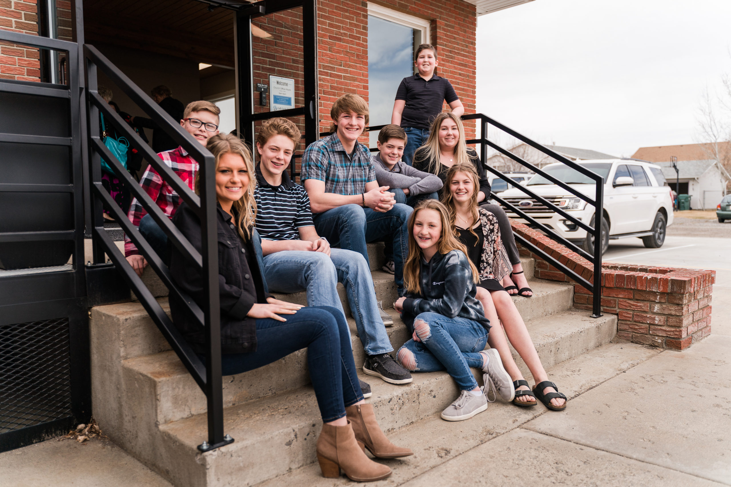 Youth Group at Faith Family Billings Church, Billings, MT
